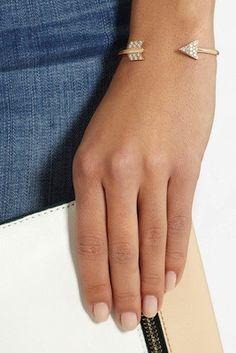 ANITA KO Arrow 18-karat rose gold bracelet. Visit London Jewelers Americana Manhasset or call 516 627 7575 to speak to a store representative.