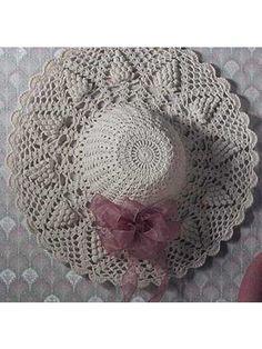 Crochet for the Home - Crochet Decor Patterns - Pineapple Suite Hat