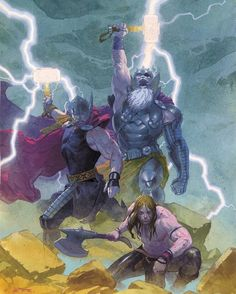 gods of Thunder  esad ribic  #captainamericacivilwar #marvelcomics #Comics #comicbooks #avengers #marvel  #captainamerica #ironman #thor #hulk #hawkeye #blackwidow #spiderman #vision #scarletwitch #civilwar #spiderman #infinitygauntlet #blackpanther #guardiansofthegalaxy #deadpool #wolverine #daredevil #xmenapocalypse #xmen #cyclops #magneto #psylocke #silversurfer #galactus http://ift.tt/1qFFlCw