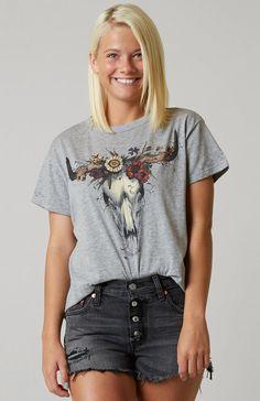 Cute Casual T-Shirts : IOC Blooming Bull Top | Buckle