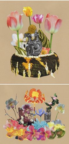 ted feighan - collages