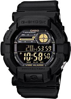 aecdce26327 Casio Men s GD350-1B G Shock Black Watch Relogio Cassio