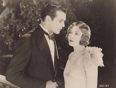 Gary Cooper and Esther Ralston in Children of Divorce (1927)