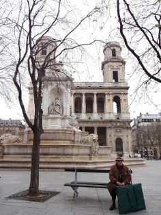 St. Sulpice church, Paris
