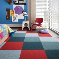 Carpet Tiles VS Roll On Carpet #carpet #office #interiordesign #carpettiles