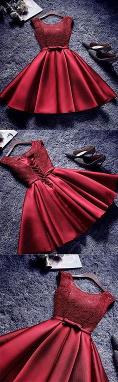 short prom dress,satin cocktail dress,homecoming dress,semi formal dress,graduation dresses by MeetB Dresses Short, Semi Formal Dresses, Trendy Dresses, Fashion Dresses, Fancy Dresses For Girls, Formal Prom, Clothes For Teens Girls, Pretty Dresses For Teens, Party Outfit For Teen Girls