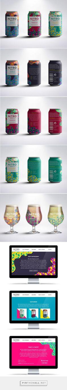 Nitro Brew Co. Nitrogen Infused Tea Packaging by Rachel Buchanan | Fivestar Branding Agency – Design and Branding Agency & Curated Inspiration Gallery
