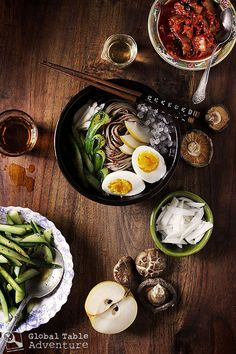 Iced Korean Buckwheat Noodles | Mul-naengmyeon *my papa makes the best version of this Korean dish!*
