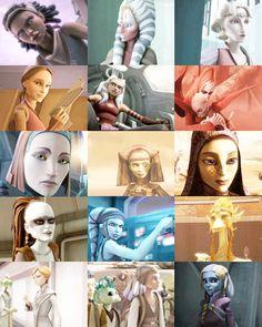 Ladies of The Clone Wars 1/2