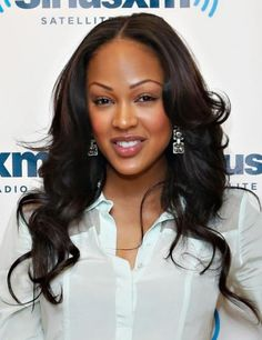 Oh yeah Meagan Good looking GREAT! www.tmghairextensions.com for this look. Brazilian body wave 18-22 inches would do the trick! Use coupon code PINTEREST10 for 10% off