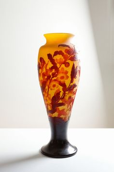 Enormous Galle vase with blossom
