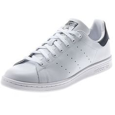 a0182ed4521 Talking About ADIDAS Mens Stan Smith Tennis Shoes White and Dark Blue - Tennis  Express