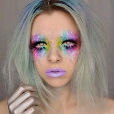 Face paint for pride