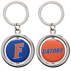 Florida Gators Basketball Spinner Keychain