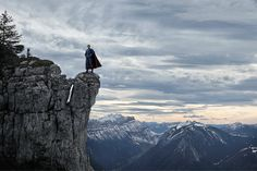 Amazing, amazing. Solitary Superheroes Find Quiet Moments in Stunning Landscapes - Benoit Lapray (see link for all)
