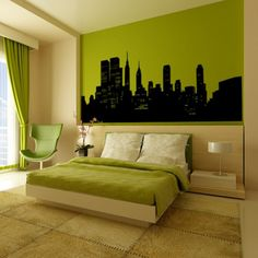 Transform your walls with decals! #green repinned by www.smg-design.de #smgdesignselect #smgdesignshop