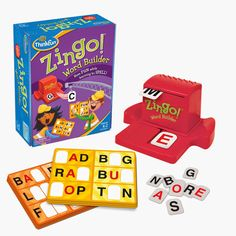 """""""She thinks she is playing a game, and I get the satisfaction of knowing that I am helping her reach some of those not so far away goals."""" Help teach your little reader spelling and vocabulary skills with Zingo! Word Builder"""