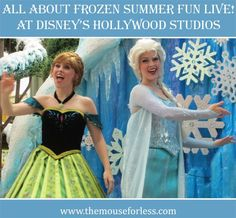 Frozen Summer Fun Live at Disney's Hollywood Studios-hoping they keep this going past summer!