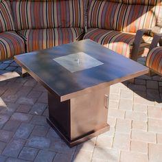 AZ Patio Heaters Steel Propane Fire Pit Table