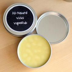 "How To Make All-Natural ""Vicks"" Vapo Rub"