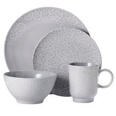Threshold™ 16 Piece Dinnerware Set - Grey