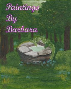 Hello and welcome to Paintings By Barbara. Barbara Flanagan is an artist located in Maryville, TN, painting the nature around her. Wishing Well, House Painting, Digital Art, Old Things, Paintings, Oil, Landscape, Outdoor Decor, Artist