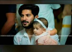 Dulquer and hi daughter Movies Malayalam, Actors Images, Cute Actors, Film Industry, Celebs, Celebrities, My Crush, Actress Photos, My Hero