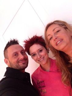 Marco and Michela a part of decosil staff with Silvia Federica Boldetti, winner of The Pastry Queen 2016 with a sugar showpiece realized with decosil molds.