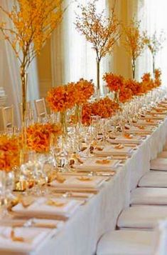 Autumn Table Decorations Google Search