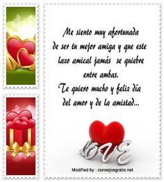 mensajes del dia del amor y la amistad para compartir por Whatsapp,enviar tarjetas del dia del amor y la amistad por whatsapp: http://www.consejosgratis.net/textos-de-amor-en-san-valentin/