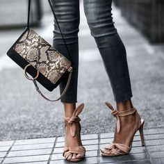 laced up + lovely Nude Sandals, Bow Sandals, Sandals Outfit, Strappy Heels, Sexy Sandals, Chic Summer Style, Chloe Bag, Sandals For Sale, Summer Shoes