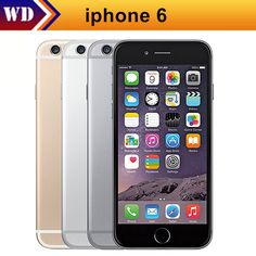 "Like and Share if you want this  Unlocked Original iPhone 6 Mobile Phone 16GB/64GB 4.7"" IPS IOS 8 Dual Core 8MP 1080P WIFI 4G LTE Cell Phone     Tag a friend who would love this!     FREE Shipping Worldwide     Buy one here---> https://www.techslime.com/unlocked-original-iphone-6-mobile-phone-16gb64gb-4-7-ips-ios-8-dual-core-8mp-1080p-wifi-4g-lte-cell-phone/"