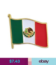 Pin mapa bandera de mxico pin flag map of mexico pines pins pinmart jewelry pins brooches ebay jewelry watches gumiabroncs Image collections