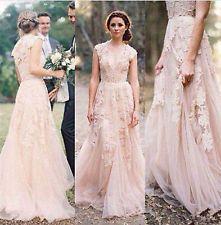 2016 New White/Ivory Wedding Dress Bridal Gown Custom Size 2-4-6-8-10-12-14-16+