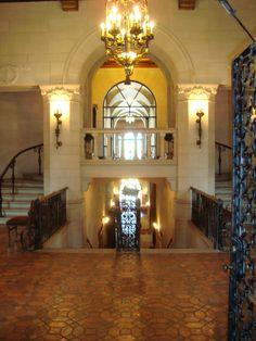 Marland Mansion entrance