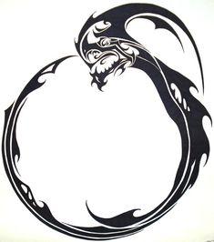 Ouroboros Indep by JordarAd.deviantart.com    My long time friend Cyrano's tattoo