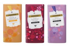 Twinings Limited Edition Caddies #packaging #design
