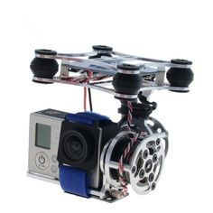 33.98$  Buy here - http://aipg8.worlditems.win/all/product.php?id=32678526173 - 160g Light-2D Light version FPV Brushless Camera Gimbal /Motors &Controller RTF for DJI Phantom Gopro3 2 Aerial Photography