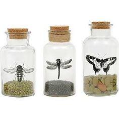 decorative glass bottle sets - Google Search