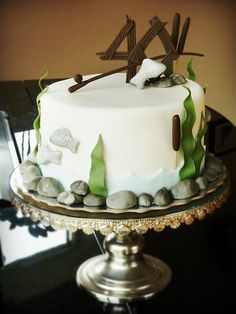 this would look great with the canoe wedding topper with the bride and groom