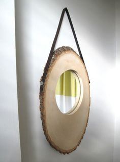 Anthropologie inspired rustic mirror