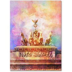 Trademark Fine Art Berlin Canvas Art by Adam Kadmos, Size: 14 x 19, Multicolor