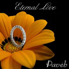 eternity diamond rings for the eternity filled with love.   http://paveb.com/