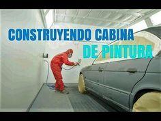 Construccion De Cabina De Pintura Primera Etapa Youtube Cabinas Limpieza De Tapizados Mantenimiento De Automóviles