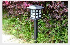 Viosliteled Outdoor solar LED to light Creative solar garden lamp Room type solar energy lamp Home garden light #Affiliate