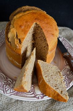 Portuguese Easter Cake with Cinnamon and Anise
