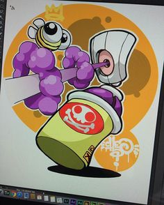 Last one of these thingies back to my felt tips... #cheo #photoshop #sticker