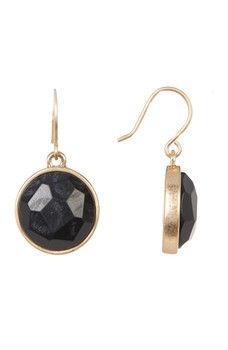 Kenneth Cole New York - Circle Drop Earrings