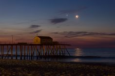 Conjunction by the Sea.