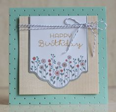 Stampin Up Cottage Greetings Card Kit